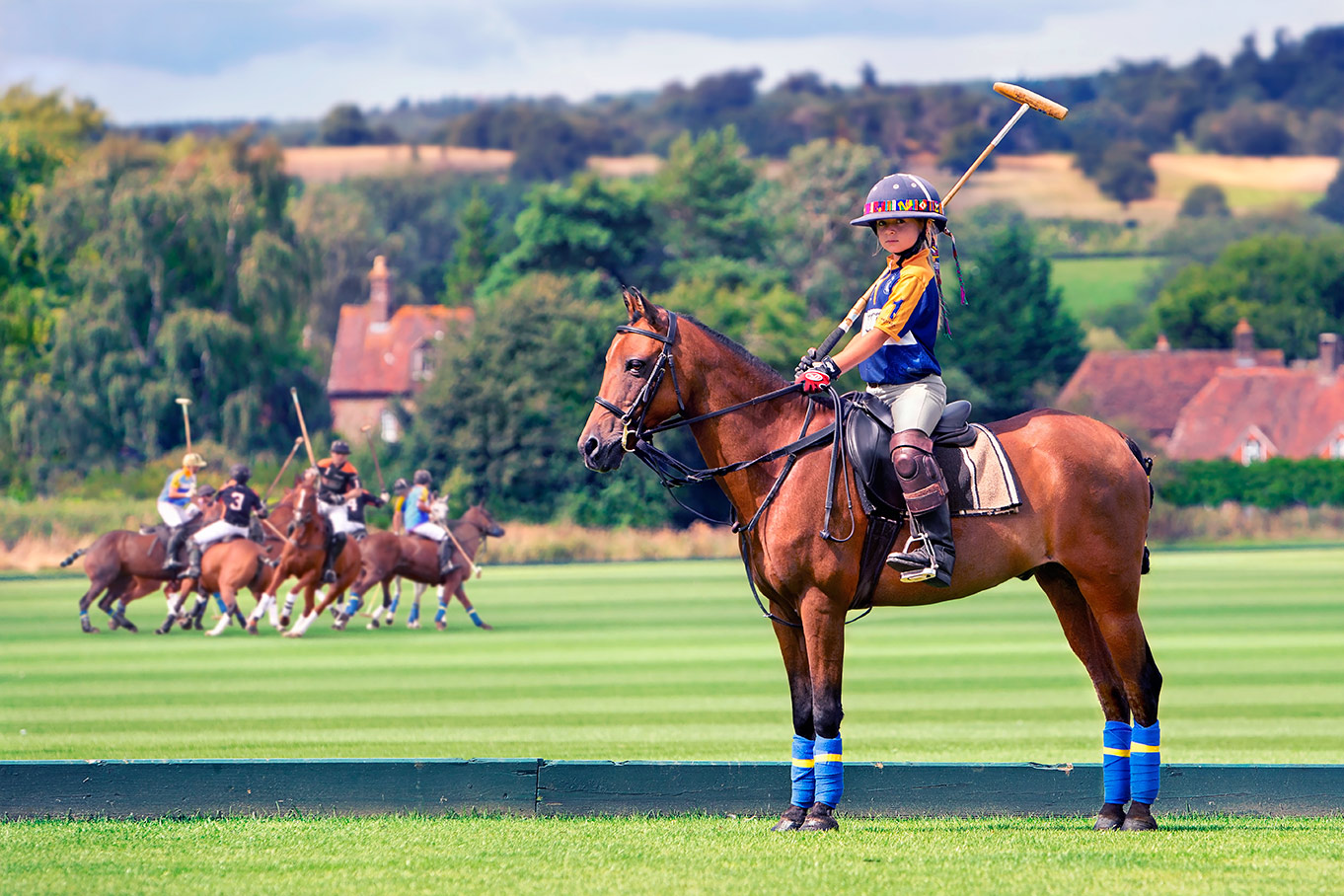Caspian Polo at Cowdray