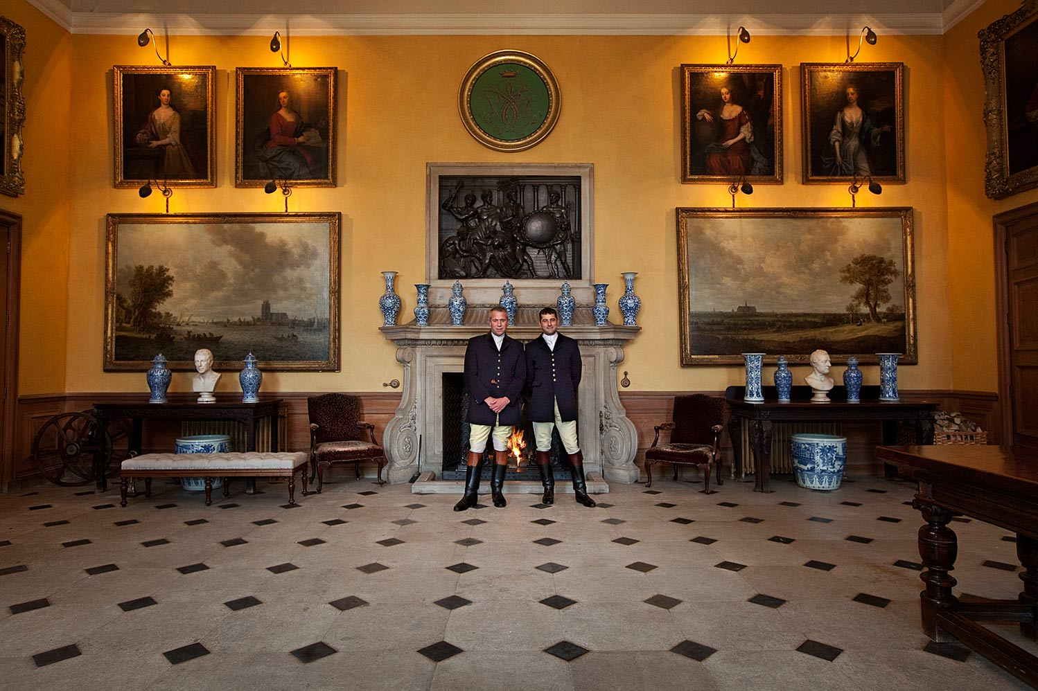 Huntsman-and-First-Whip-inside-Petworth-House